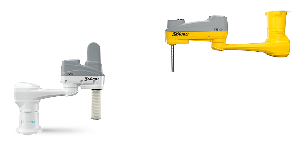 New TS2 SCARA industrial robots
